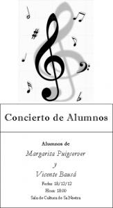 profesor concierto